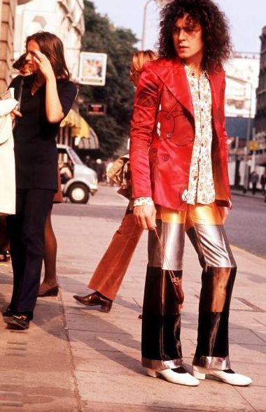 One more Marc Bolan because these pants.