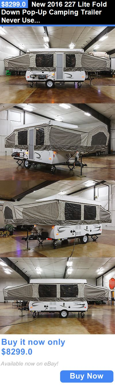 rvs: New 2016 227 Lite Fold Down Pop-Up Camping Trailer Never Used Lowest Price BUY IT NOW ONLY: $8299.0