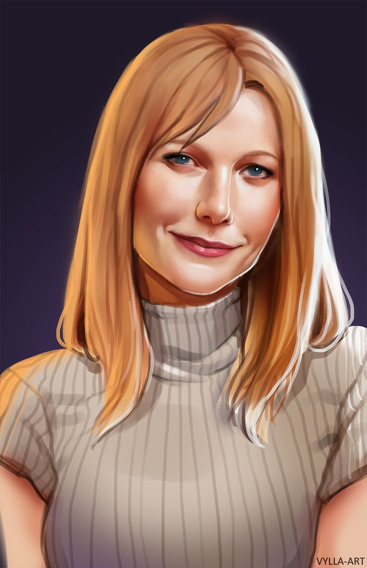 Pepper Potts, my bae, Tony's bae, change that Marvel and I will fight you
