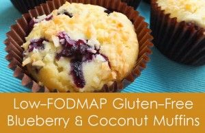 Low-FODMAP Blueberry & Coconut Muffins