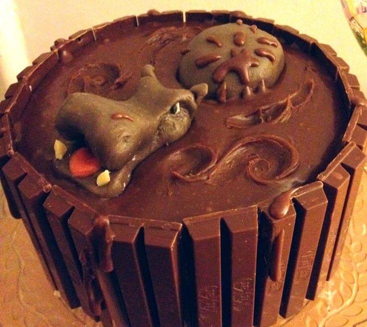 taart nijlpaard
