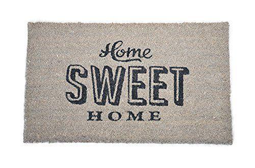 cute home sweet home 50s fussmatte t rmatte rockabilly. Black Bedroom Furniture Sets. Home Design Ideas