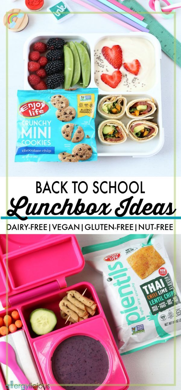 Healthy Vegan Allergy Friendly Back To School Lunchbox Ideas So
