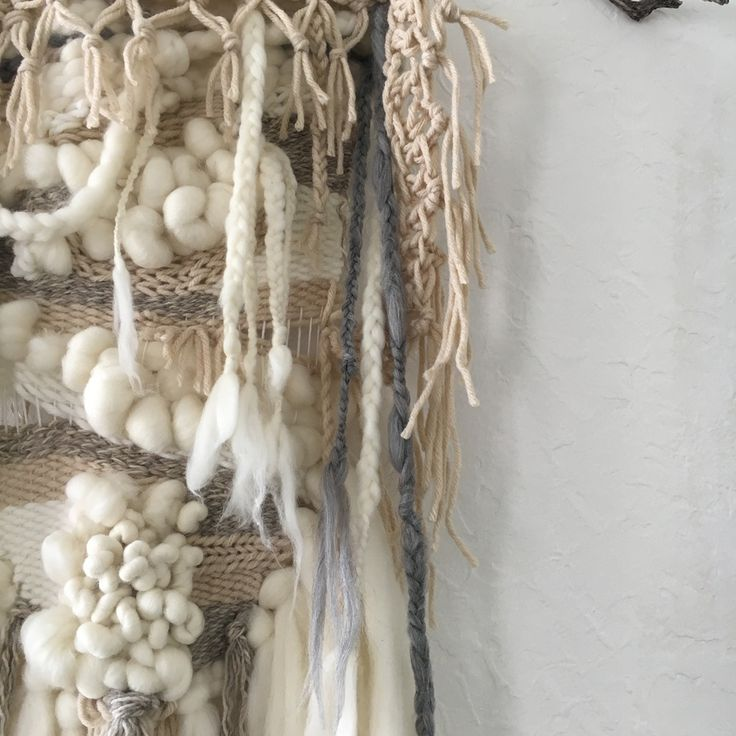 """""""The New Girl"""" Hand woven hanging By Elke's Room"""