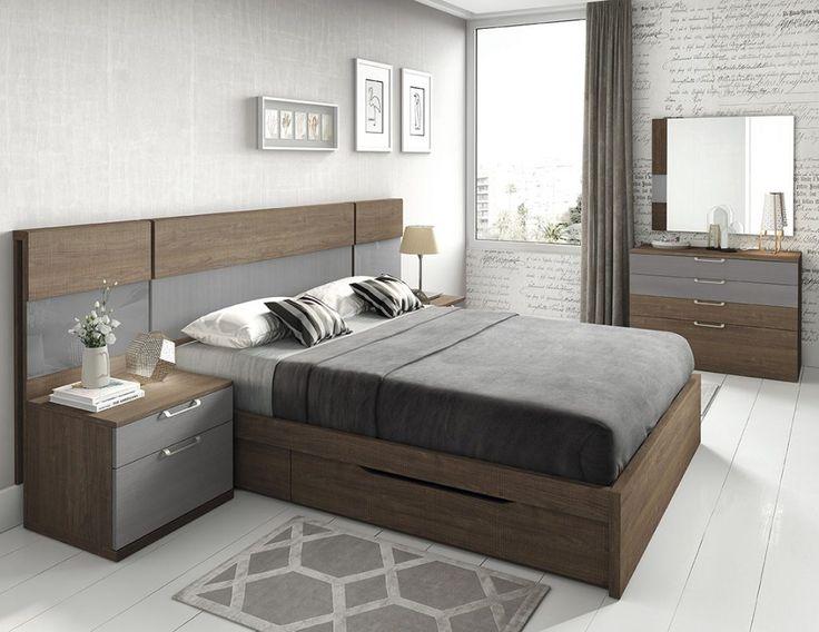 Dormitorio moderno (168 – D13) - Muebles CASANOVA