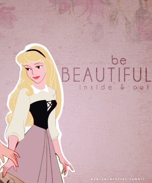 Be beautiful inside and out