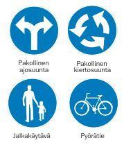 Liikennemerkkibingo: Valitkaa bingoon sopivat merkit ja ei muuta kun bongailemaan koulun lähistölle ja koulumatkan varrelle!
