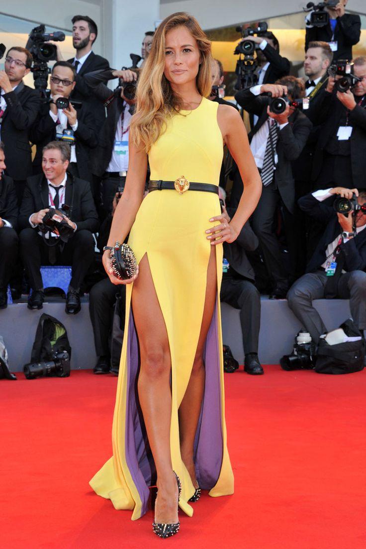 Desde la perspectiva adecuada, el vestido de Natasha Borges luce así.