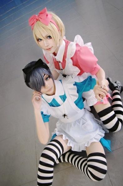 Kuroshitsuji- Ciel In Wonderland OVA: Alois Trancy  Ciel Phantomhive #cosplay - Kuroshitsuji