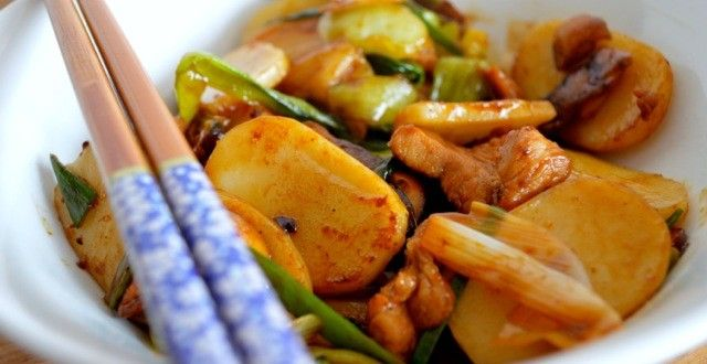 STIR-FRIED STICKY RICE CAKES (Nian Gao) | The Woks of Life