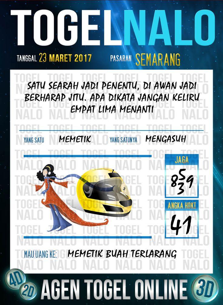 Kode Angka 4D Togel Wap Online TogelNalo Semarang 23 Maret 2017