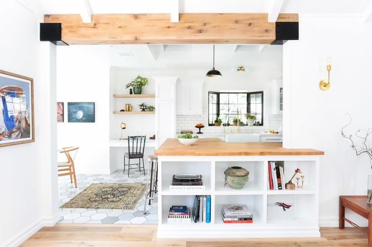 """""""This house is my first soup-to-nuts full renovation.  We took the house down to the studs, moved walls, raised ceilings and put in new windows."""""""