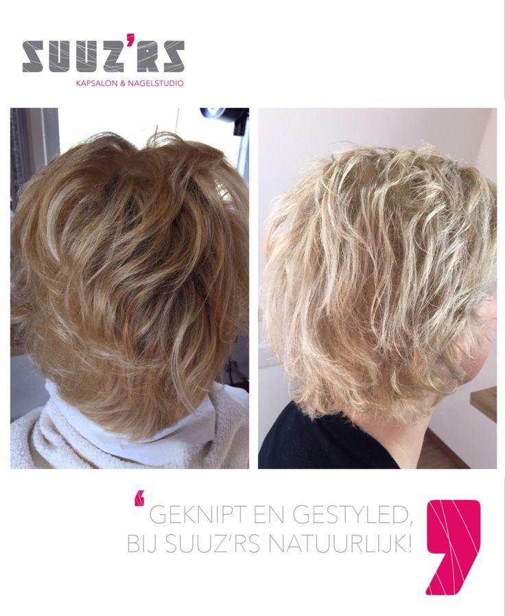 Geel blond naar helder as blond!