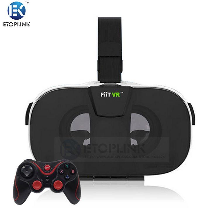 Find More 3D Glasses/ Virtual Reality Glasses Information about FIIT VR Virtual Reality 3D Glasses Helmet Lightweight Ergonomic Design VR BOX for 4.0 ~ 6.5 inch Smartphone+T3 Bluetooth Gamepad,High Quality helmet goggle,China helmet ipod Suppliers, Cheap design peugeot from Guangzhou Etoplink Co., Ltd on Aliexpress.com