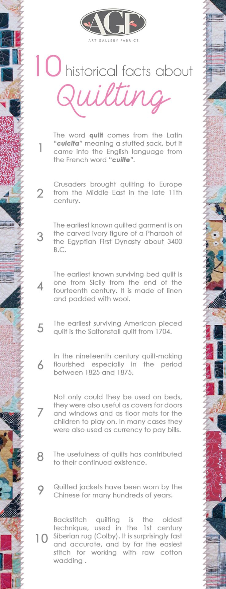 10 Historical Facts About Quilting