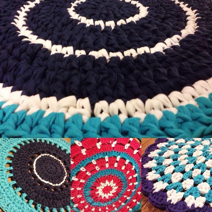 su Tappeto A Maglia su Pinterest  Tappeti di pezze, Lavoro a maglia ...