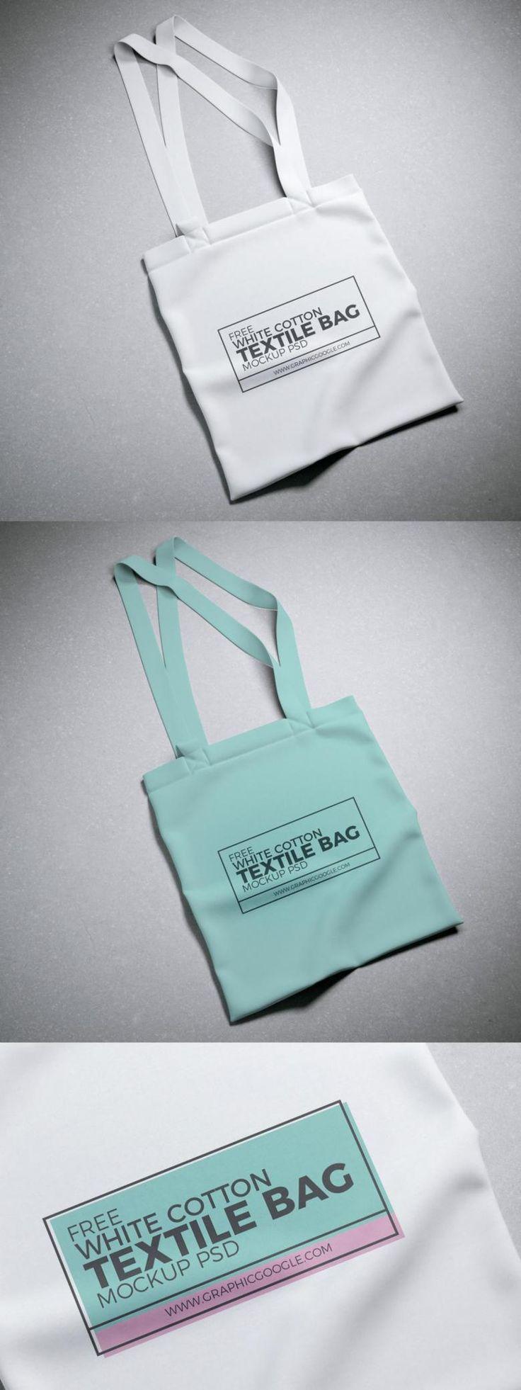 Download Free Cotton Tote Bag Mockup