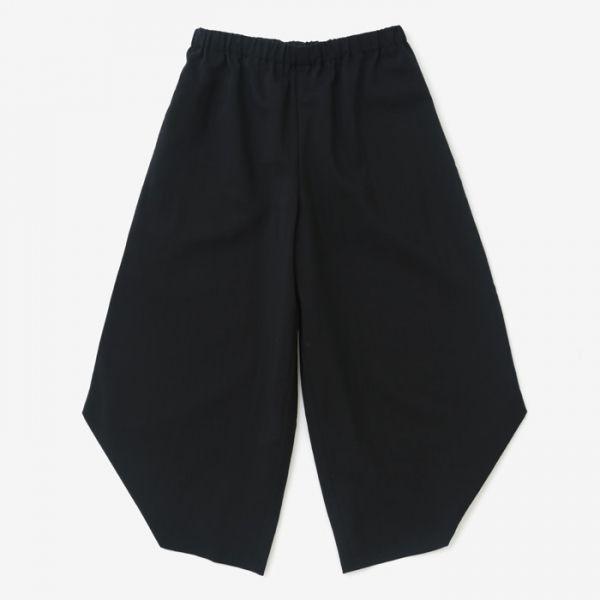 Hironari Monpe Pants Black Muslin Wool : SOU • SOU US Online Store