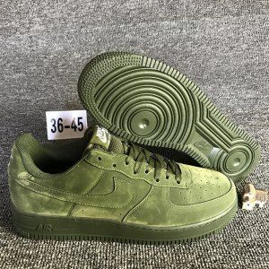 huge selection of 94af5 9c07f Mens Womens Nike Air Force 1 Low 07 Legion Green 315123 302 Running Shoes
