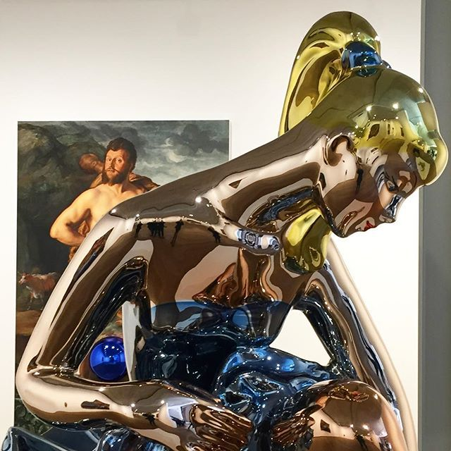 Jeff Koons at Almine Rech Gallery in London - opening on  Tuesday, October 4 from 6 to 8 pm  New location:  Almine Rech Gallery Grosvenor Hill, Broadbent House, London, W1K 3JH  #jeffkoons #alminerech #alminerechgallery #london