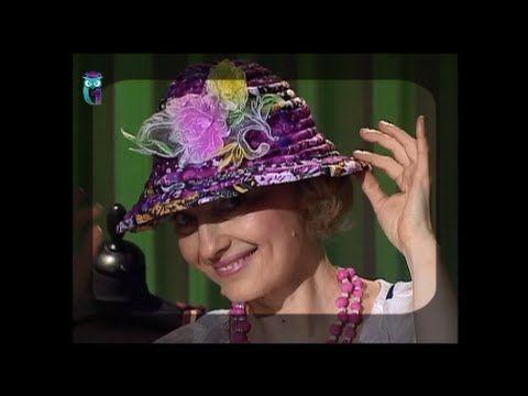 Шьем стильную шляпку без выкройки из старых шерстяных вещей. Мастер класс - YouTube