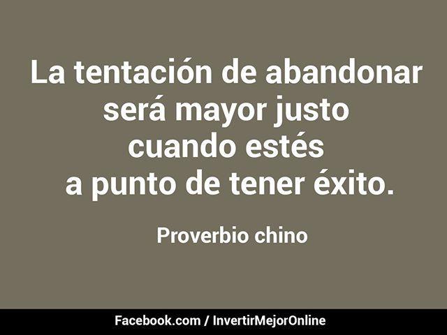 #Proverbio chino