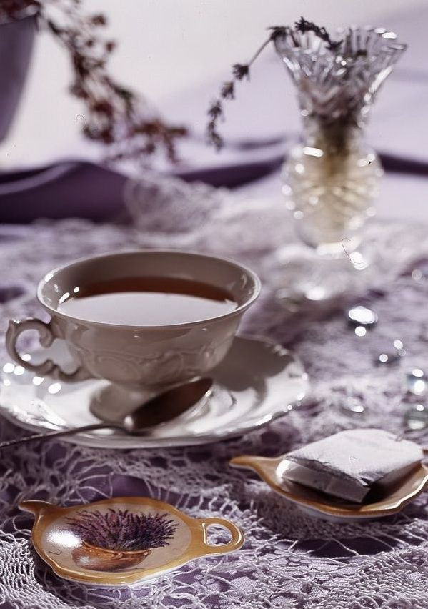 Tea:  A solitary tea time can be beautiful and serene.