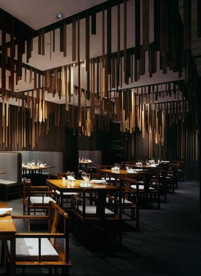 Shato Hanten, a Chinese restaurant designed by Kengo Kuma and Associates....