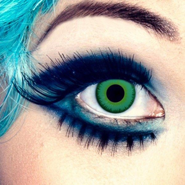 Grüne Farblinsen - auch für braune Augen, ohne Stärke – Bild 2