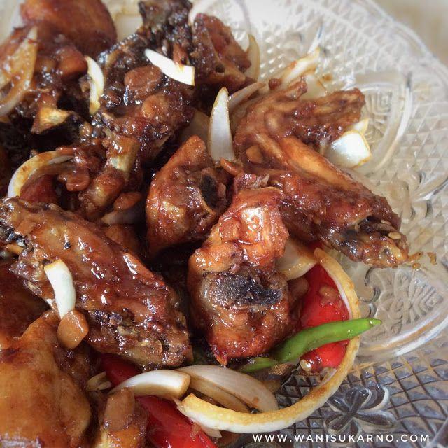 Ayam Kicap Taucu Recipes Chicken Chicken Wings