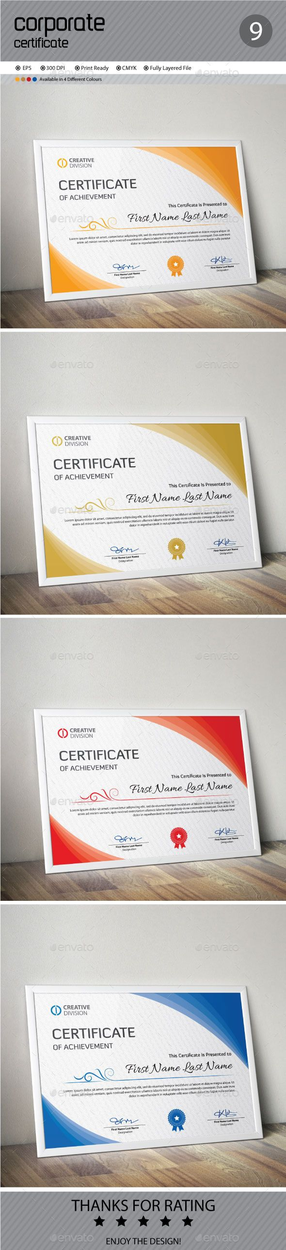 Certificate Template Vector EPS. Download here: http://graphicriver.net/item/certificate/11957373?ref=ksioks