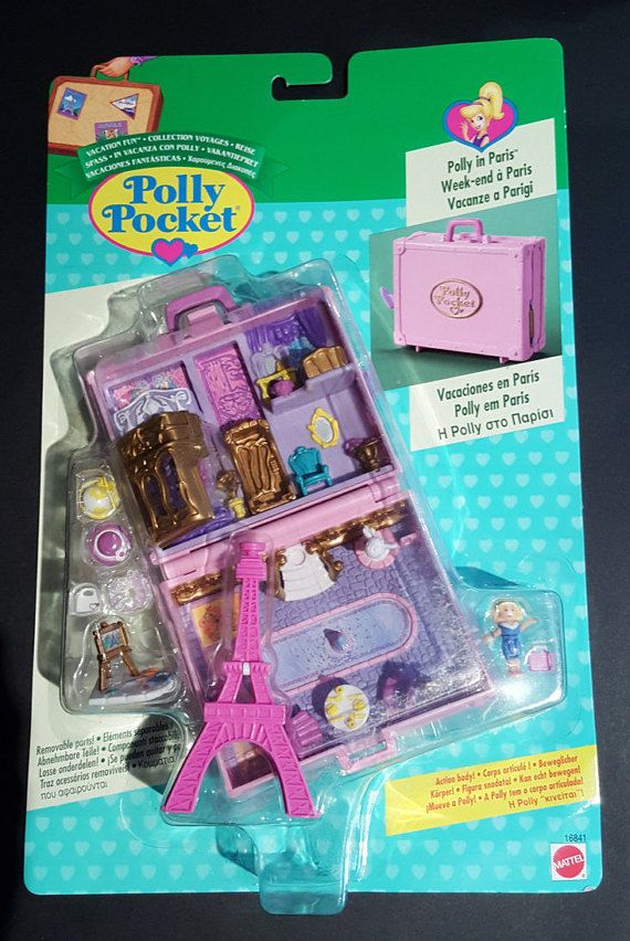 Check out this item in my Etsy shop https://www.etsy.com/au/listing/464002941/vintage-polly-pocket-polly-in-paris-1996