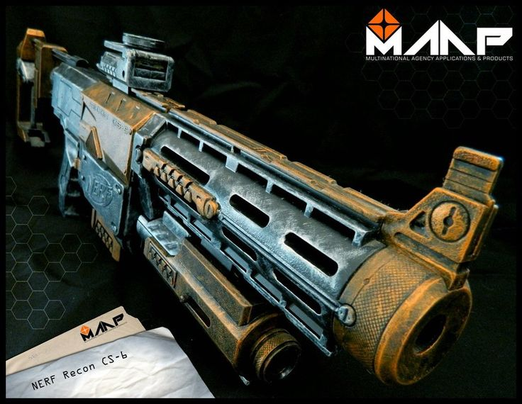MAAP Nerf Recon CS-6 #4 by Raccon85 on @DeviantArt