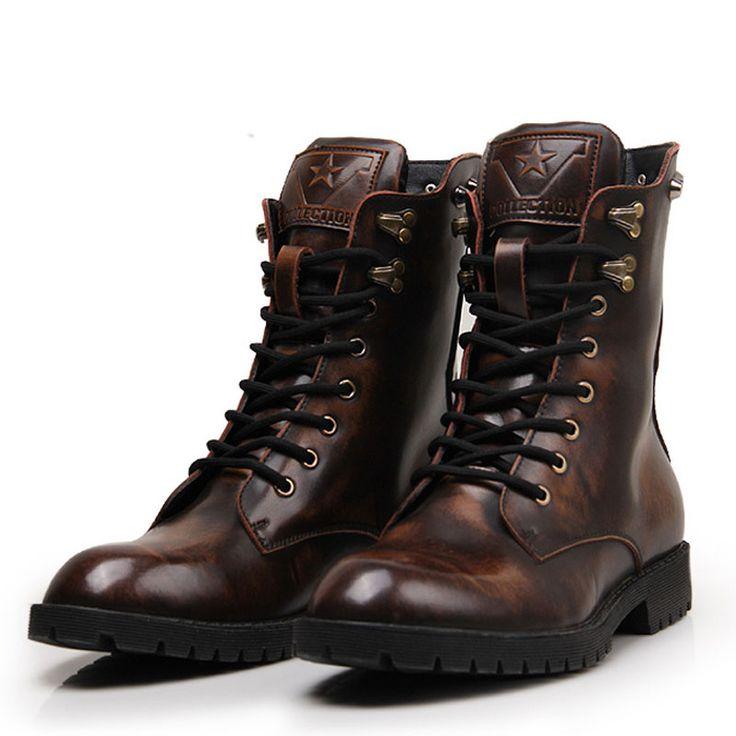 Skull Unisex Winter Genuine Leather Boots //Price: $76.69 & FREE Shipping //     #skull #skullinspiration #skullobsession #skulls