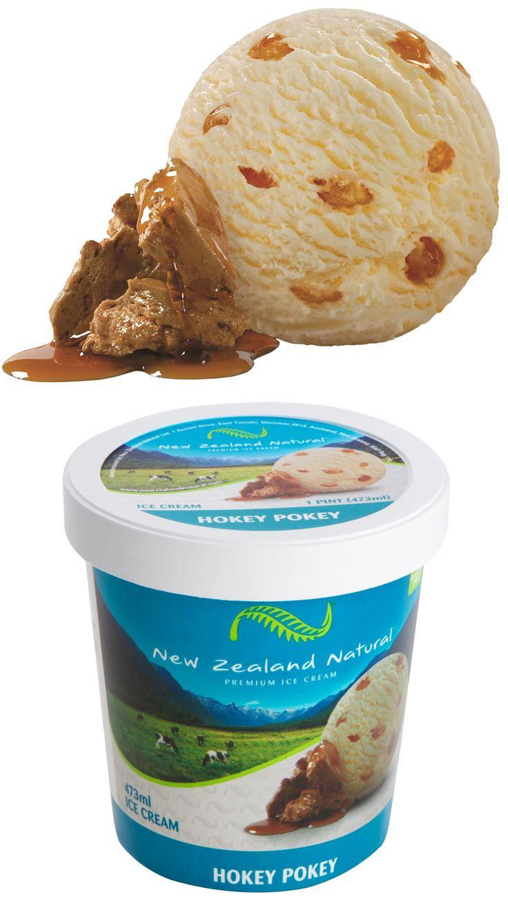 Hokey Pokey - 473ml & 6L #hokeypokey  #icecream #newzealandicecream #newzealand