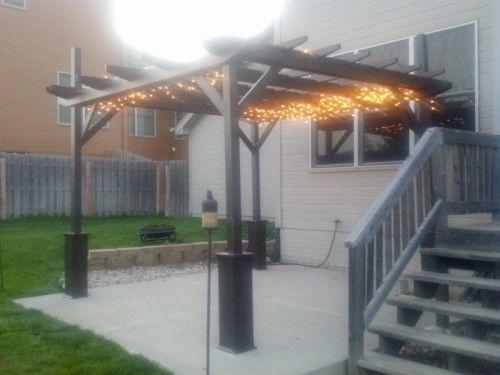 7 Easy To Make DIY Outdoor Pergolas | Shelterness