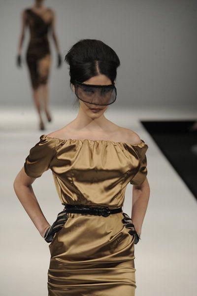 """50's style off shoulder dress """"Virna"""" www.lineadiluna.com"""