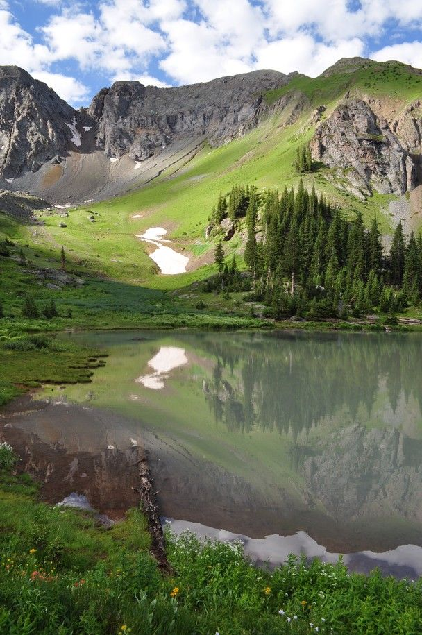 Gold King Basin in July, San Juan Mountain Range, San Miguel County, Colorado, by barbara newby