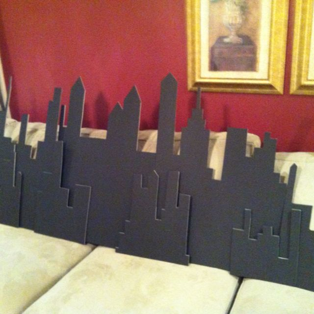 City Scape for Super Hero Party. Playpatterns.net