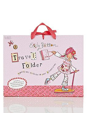 Emily Button™ Travel Folder