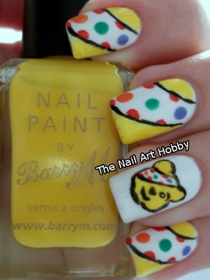 The Nail Art Hobby: Children in Need nails!