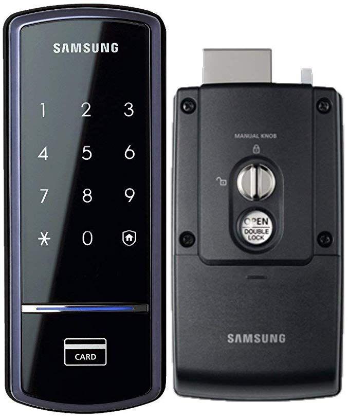 Samsung Shs 1321 Digital Door Lock Rim Deadbolt Touchscreen Keyless Digital Door Lock Door Lock System Keyless Locks