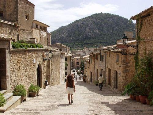 pollensa mallorca | Spain - Mallorca - Pollenca / Way down from the Calvary…