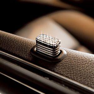 Emmy DE * Executive Door Lock Knob for my Mercedes SLK - Manufacturer of Crystal: Swarovski Crystal Components #cars