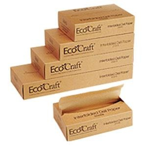 "Bagcraft Papercon 016010 10 3/4"" x 10"" EcoCraft Interfolded Dry Wax Deli Paper"