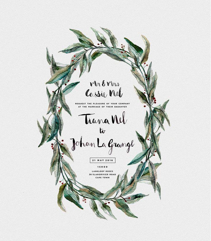 best wedding typography inspirations 5