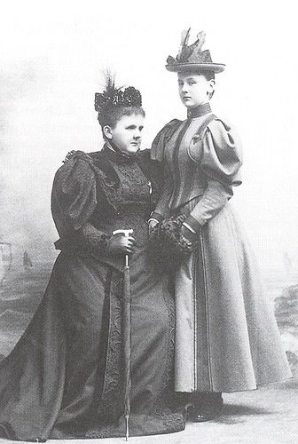Queen Emma and her daughter Wilhelmina