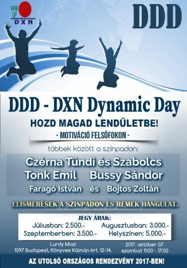 DDD – DXN DYNAMIC DAY http://legjobbmlm.hu/ddd-dxn-dynamic-day/