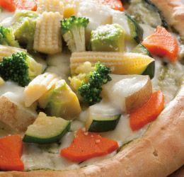 たっぷり蒸し野菜のジェノベーゼ by ピザ マイスター