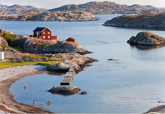 How sweet is this? Tjorn, Bohuslän Sweden